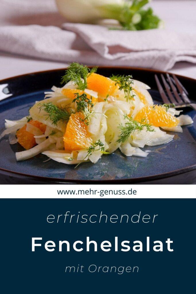 Fenchelsalat auf Pinterest