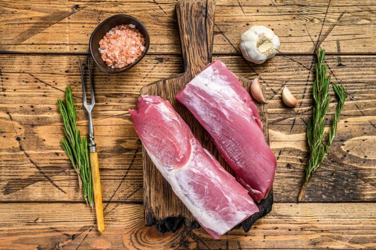 Schweinefilet zubereiten und richtig braten