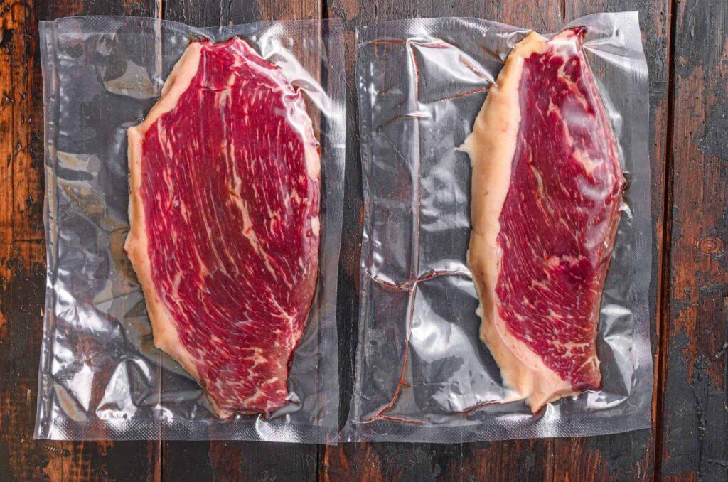 Sous-Vide gegartes Steak